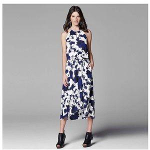 Simply Vera Vera Wang Abstract Midi Dress